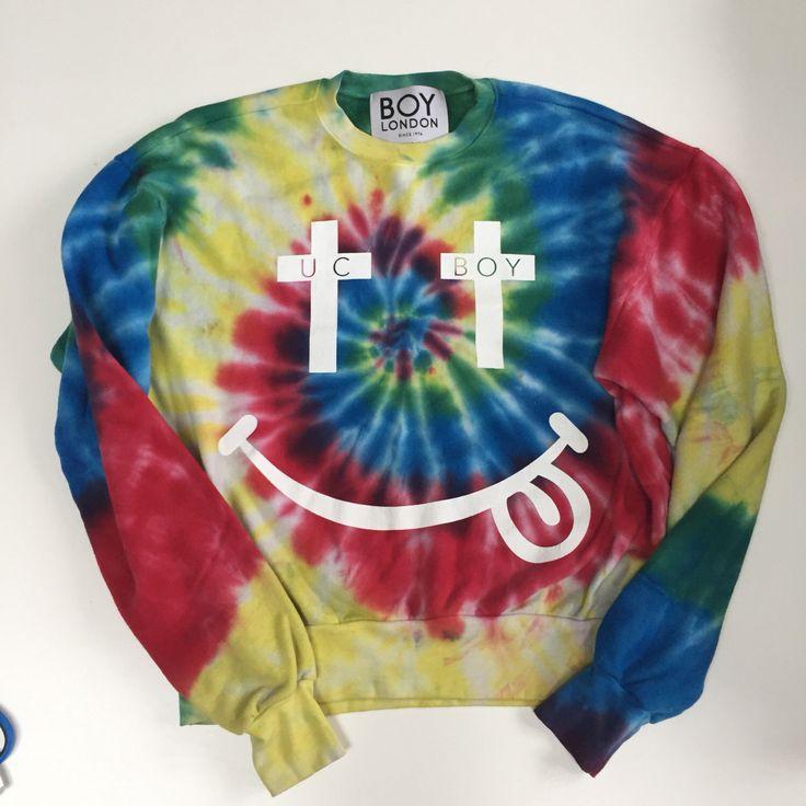 A personal favorite from my Etsy shop https://www.etsy.com/ca/listing/496405519/boy-london-vintage-sweatshirt