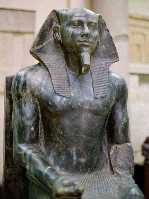 Diorite statue of Khafra