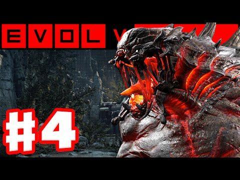 Evolve - Gameplay Walkthrough Part 2 - Evacuation! Hunters vs. Kraken Monster! (Evolve PC Gameplay) - YouTube