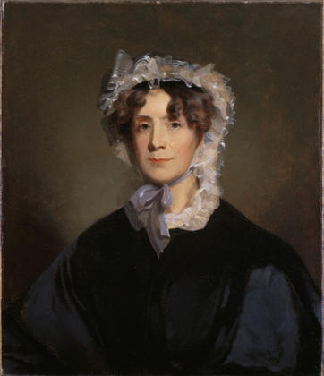 "--Thomas Jefferson's daughter, Martha ""Patsy"" Jefferson Randolph. According to Monticello.org, there are no known portraits of her mother, Martha Wayles Skelton Jefferson."