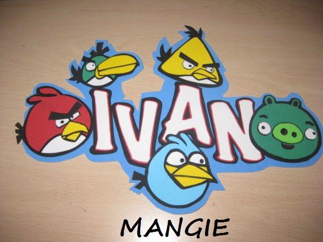 Angry bird goma eva
