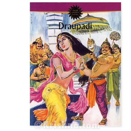 Krishna.com Store - Draupadi, Comic Book, $2.95 (http://store.krishna.com/draupadi-comic-book/)