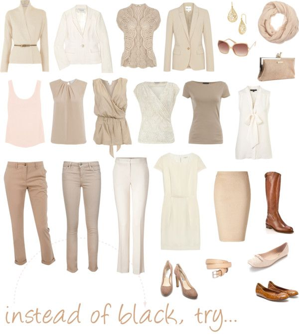 """""""instead of black, try..."""" by pinz824 on Polyvore"""