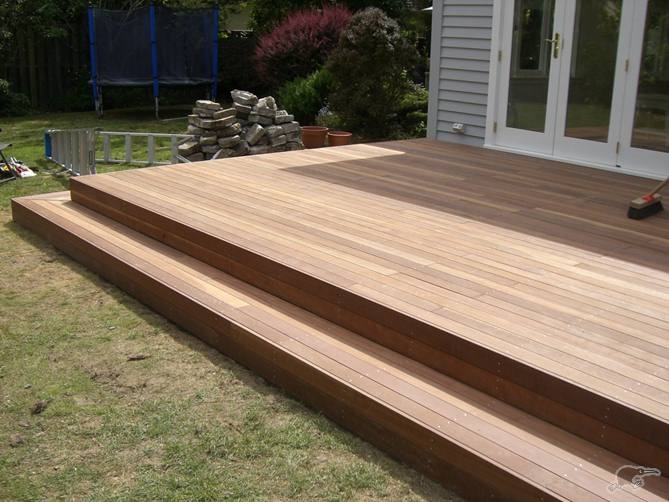 Deck without railing Ideas/Plans for the BackYard in