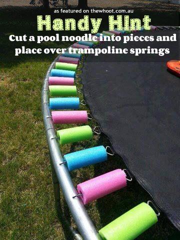 handy hint trampoline