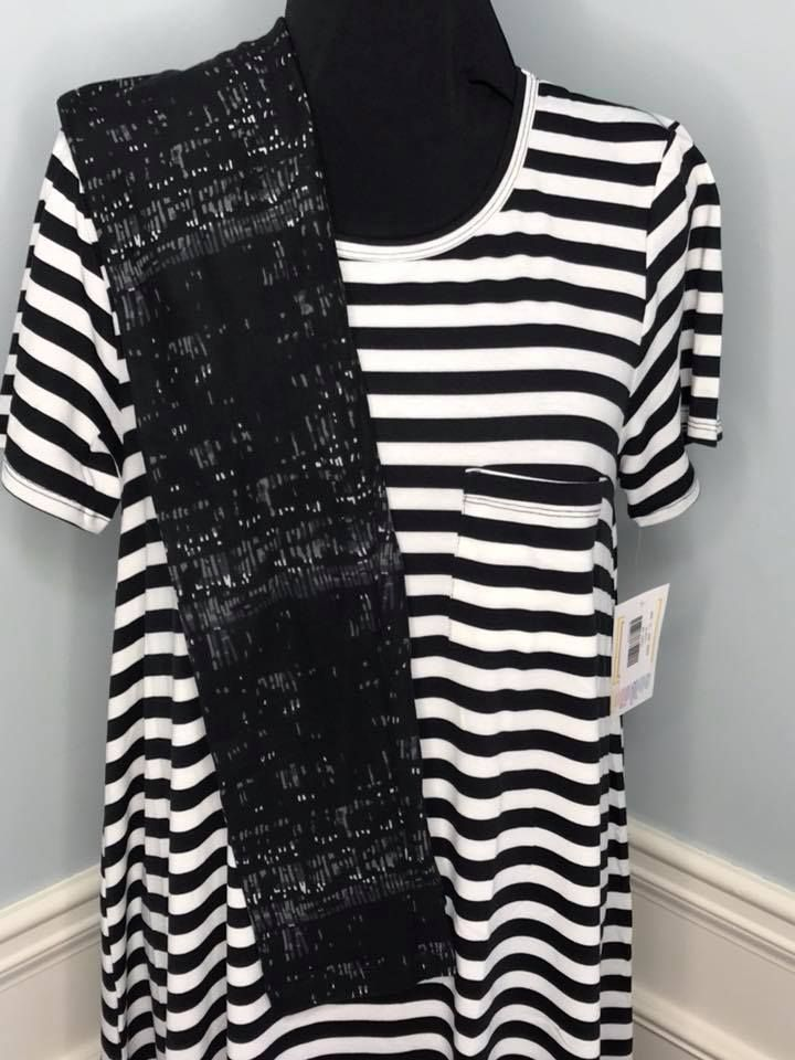 Black and White LuLaRoe Leggings Outfit. So Classy and Chic. ~ Click the  Picture