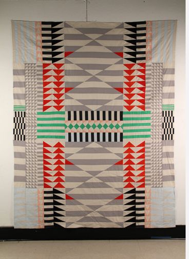 Meg Callahan.  This woman brings a whole new aesthetic to quilts.