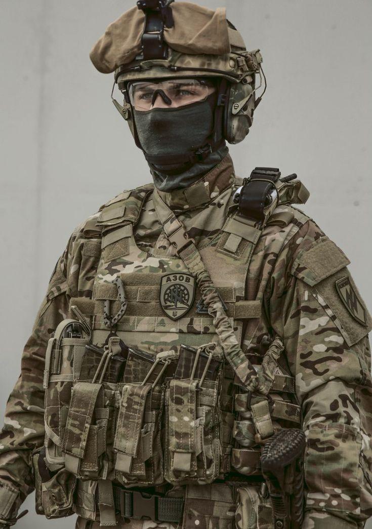 Українаに魅せられて。:アゾフ連隊の個人装備③ パッチ