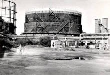 The Highett Gasworks. Often snuck in when these were closed down and we made an unfinished murder mystery film using the interiors as a suitably industrial backdrop. Spooky.