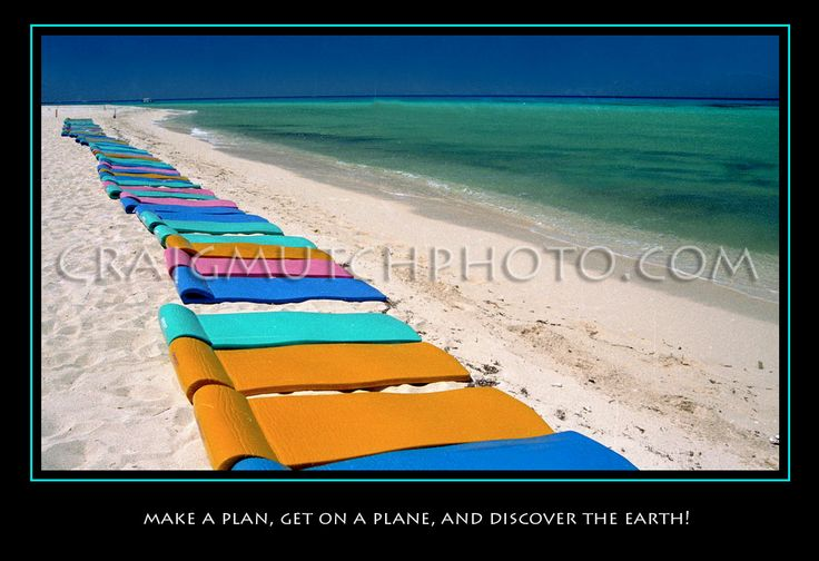 Colorful matts on Cozumel Mexico