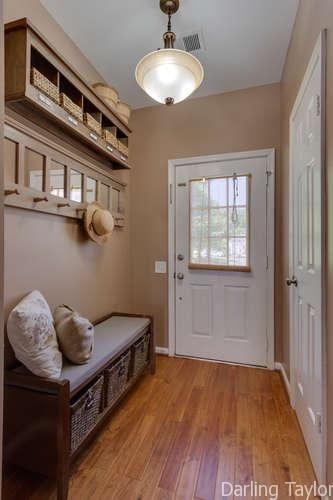 Small foyer entryway