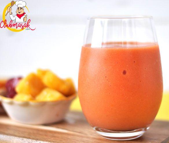Resep Smoothie Strawberry Mangga, Resep Minuman Untuk Berbuka Puasa, Club Masak