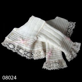 Isn't the Cluny lace on this little jacket lovely?