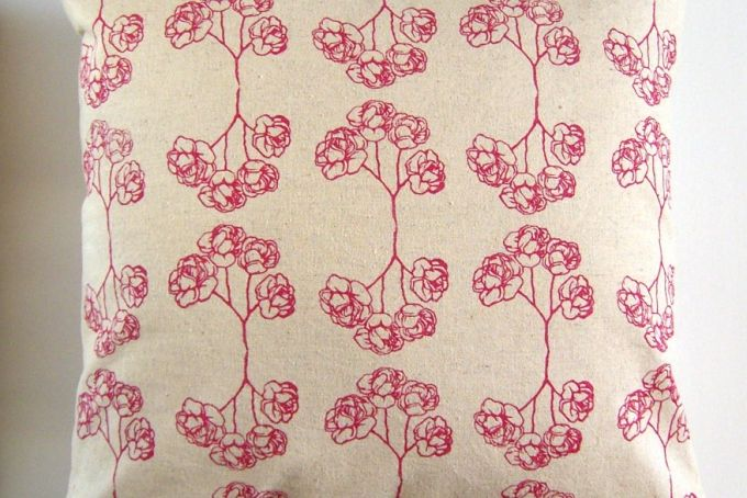 Cushion Cover - Roses by Henri Kuikens on hellopretty.co.za