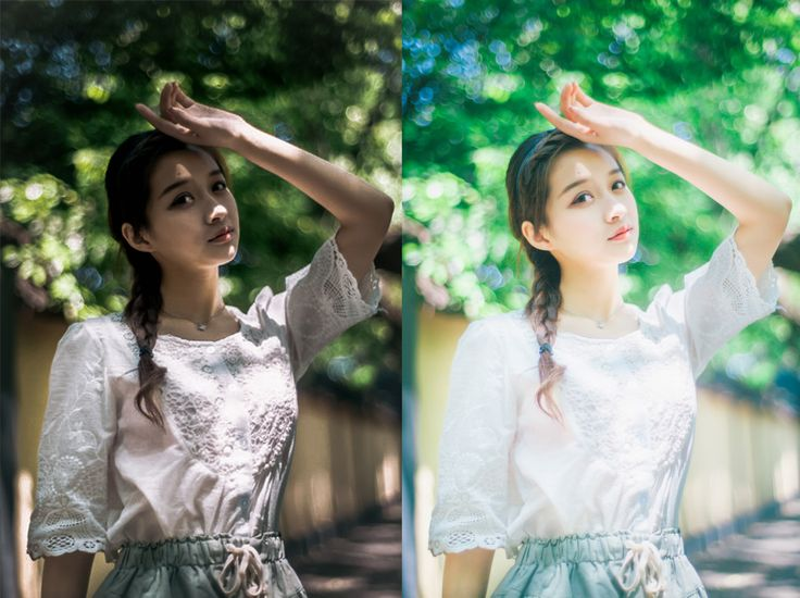 Preset lightroom: how to make small fresh color tone, japanese tone