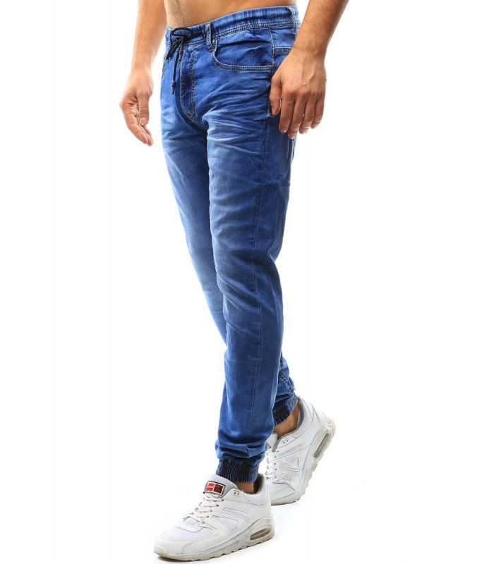 Pánske džínsové jogger nohavice