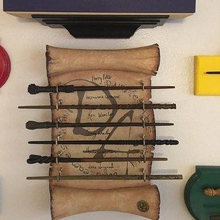 "This Couple Have An Incredibly Magical ""Harry Potter"" Wand Collection."