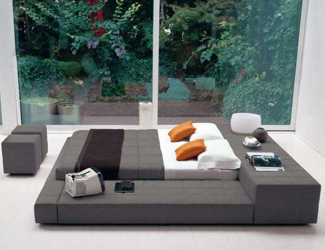 Minneapolis Modern Platform Bed