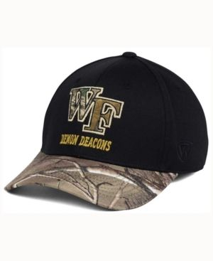 Top of the World Wake Forest Demon Deacons Region Stretch Cap - Black M/L