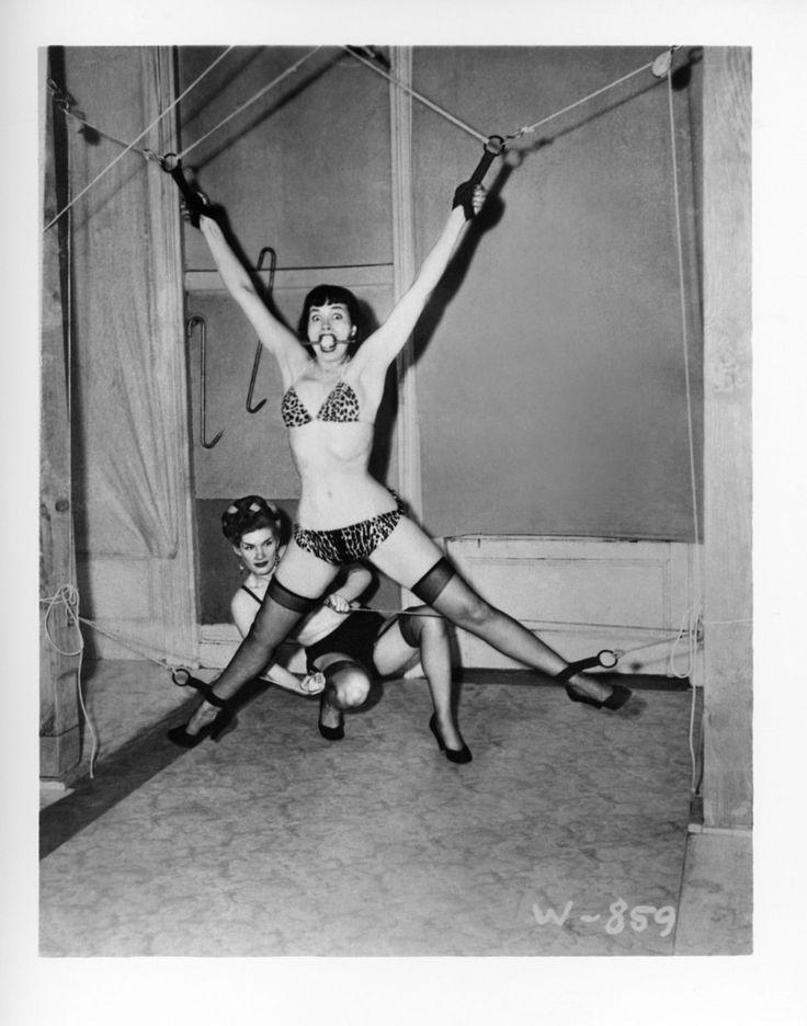Vintage bondage bettie page