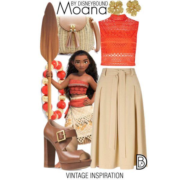 Disney Bound - Moana | Moana | Pinterest | Roupas femininas Roupas inspiradas e Saia