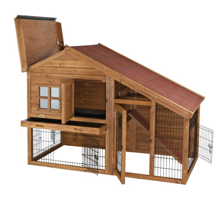 two story rabbit house | See more outside rabbit hutches for sale here :