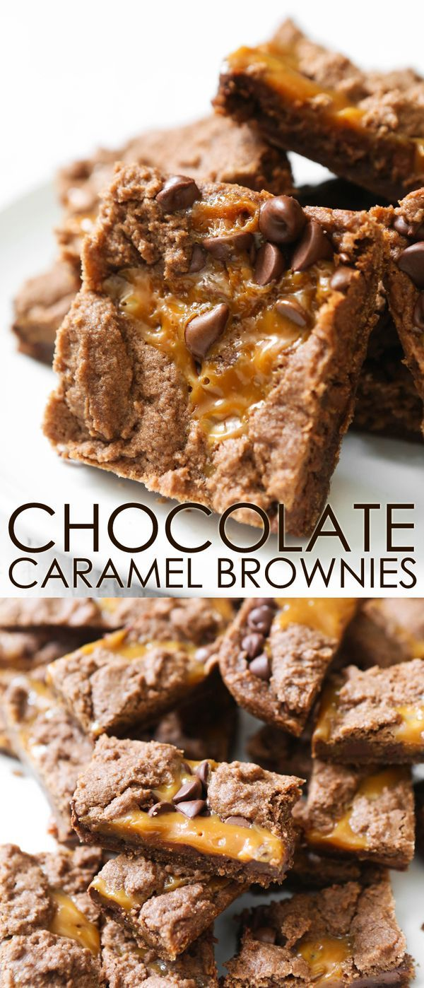 Chocolate Caramel Brownies | My all-time favorite brownies. These babies will make you famous.