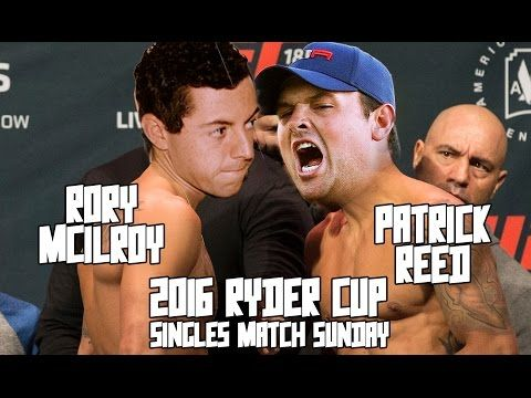 2016 Ryder Cup -Rory Mcilroy vs Patrick Reed Singles Matches - Mixmaster Golf Drinking Game - YouTube