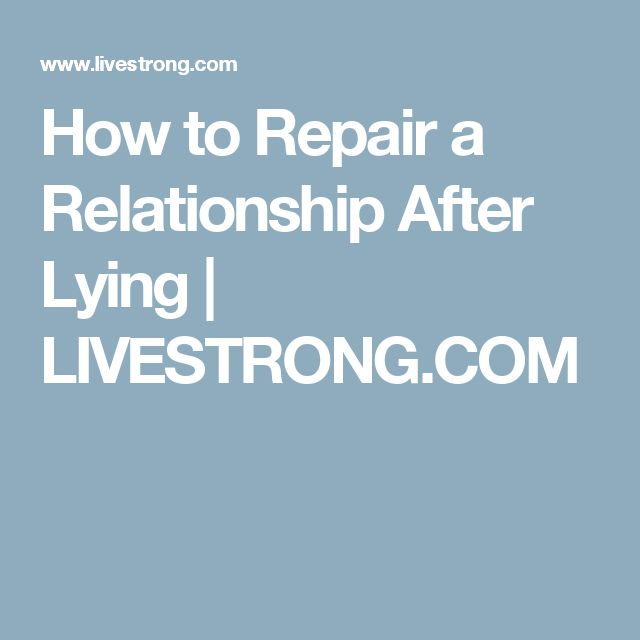 How To Repair A Marriage After Lying