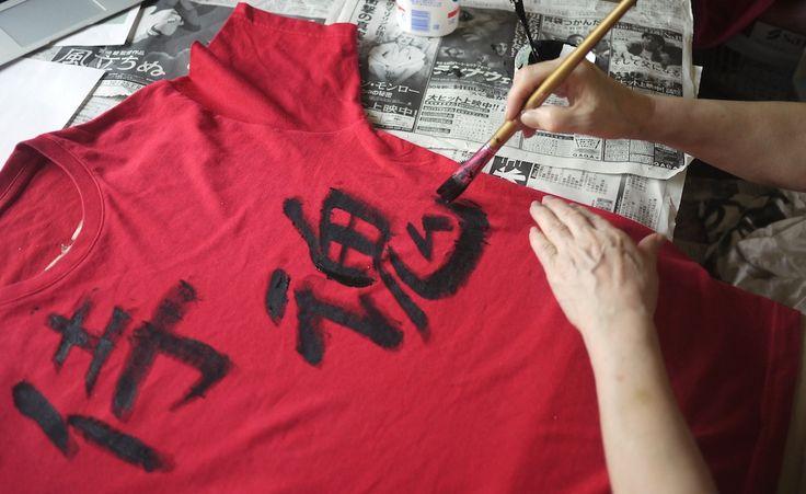 Designing Samurai Spirits.   http://www.wakuwakubox.com/ Hit Like on The Japan Tee Facebook page
