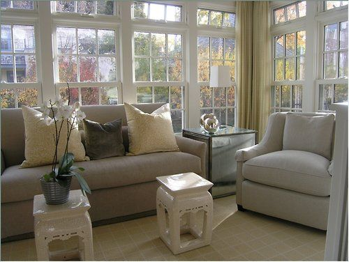 Sunroom. I can only imagine amazing this would be on a rainy day