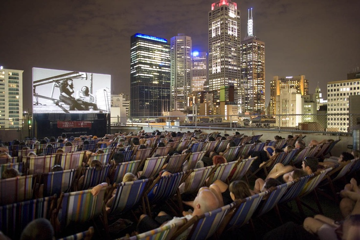 Rooftop Cinema, Curtin House, Melbourne By Grant Amon Architects