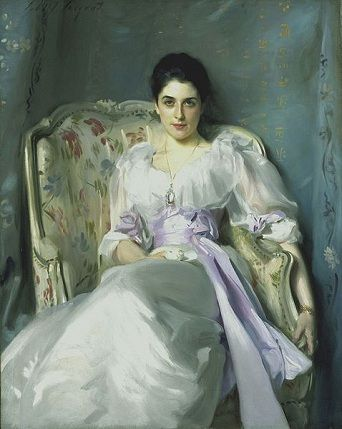 Lady Agnew of Lochnaw, ca. 1893 (John Singer Sargent) (1856-1925) Scottish National Gallery, Edinburgh NG 1656