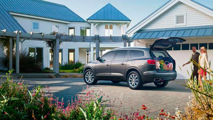 2014 Enclave Luxury Crossover Suv Features A Rear Power Liftgate