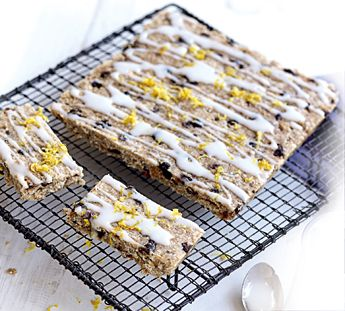 Step 1 Preheat oven to 160°C. Line an 18cm x 28cm slice tin with 1 sheet of baking paper, leaving a 2cm overhang at long sides. Step 2 Place crushed Weet-Bix, flour, coconut, sugar, sultanas and spread in a large bowl with 1/4 cup water. Stir to combine. Press slice mixture evenly into prepared tin. Step 3 Bake for 15-18 minutes or until light golden. Remove slice from oven. Leave to cool completely. Step 4 Mix icing sugar and lemon juice in a small bowl until icing reaches drizzling…
