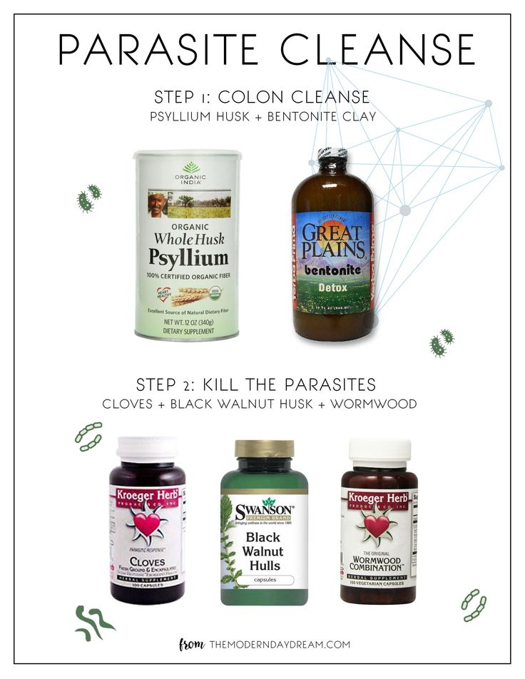 organic olivia parasite cleanse instructions