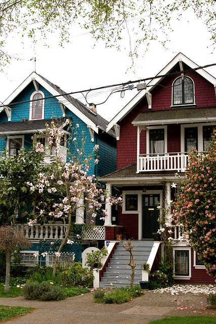 Kitsilano vancouver i love these houses they are on my old street