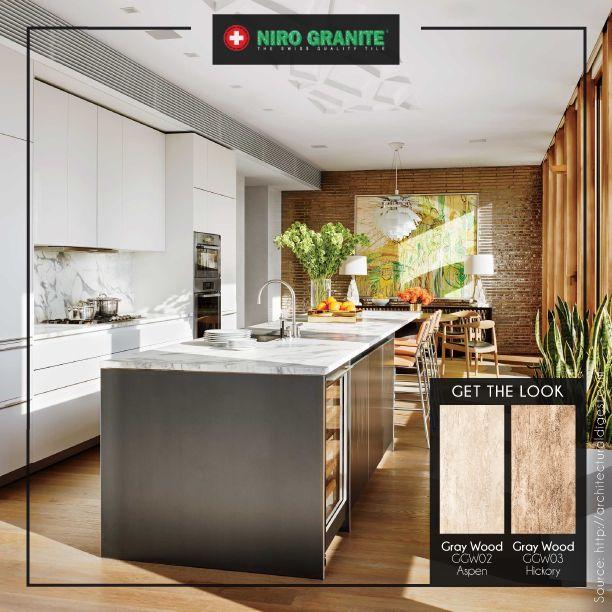 Sometimes less is boring and more is more. Ruangan berikut ini memadukan berbagai material seperti kayu, beton, batu bata serta marmer yang menghasilkan kombinasi sempurna nan menarik. Jika Anda tertarik untuk mengaplikasikan desain seperti contoh ini pada hunian, pilihlah palet warna yang senada dan pertimbangkan porsi masing-masing material. Dapatkan tampilan menarik ruangan ini dengan koleksi Gray Wood http://www.nirogranite.co.id/product/gray-wood.