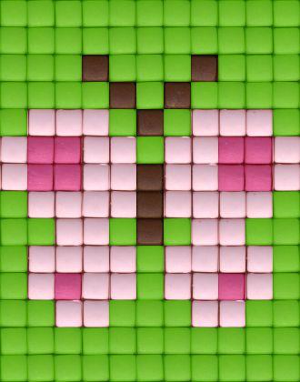 Farfalla rosa- fucsia