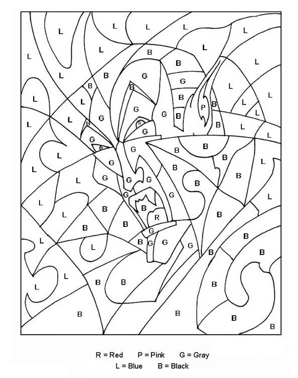 Color By Letters Coloring Pages Best Coloring Pages For Kids Witch Coloring Pages Halloween Coloring Pages Halloween Coloring