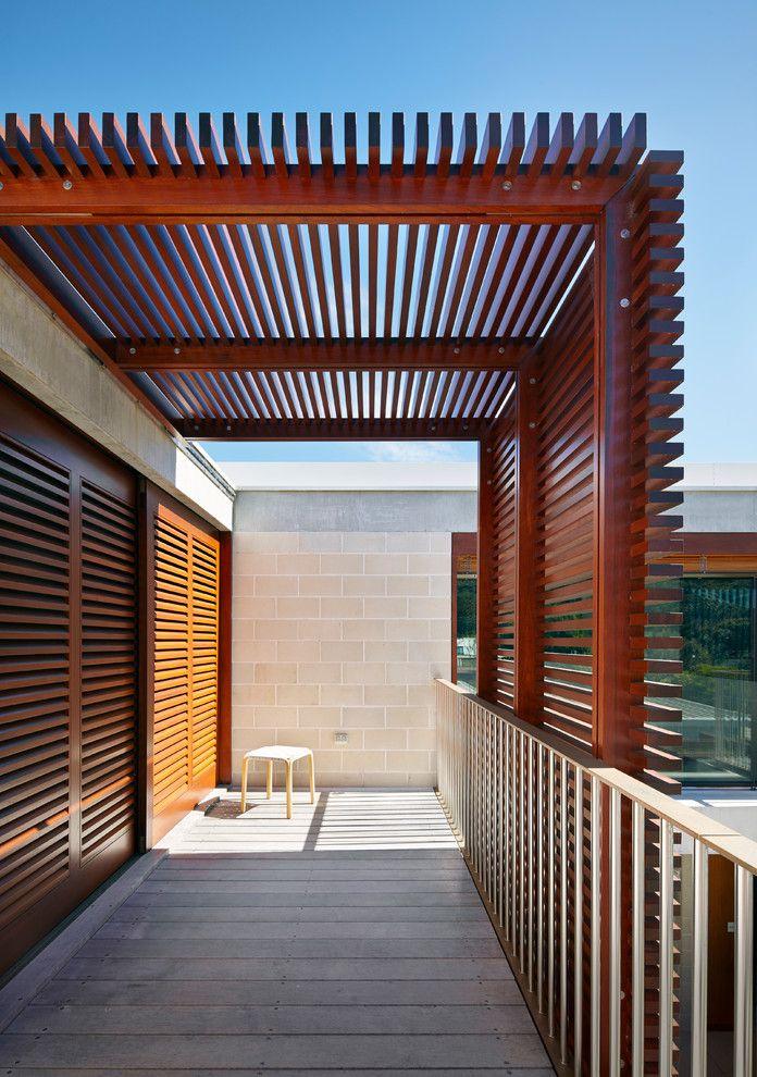 Stupendous Pergola Modern Ideas in  Deck Contemporary design ideas with  balustrade beach house cavity sliding doors cavity