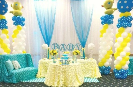 Rubber Ducky Baby Shower Decoration Ideas