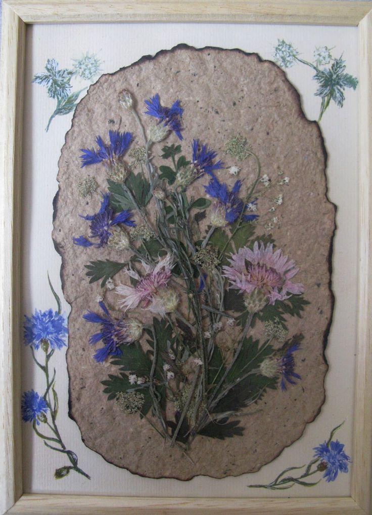 Открытки, открытки из сухих цветов