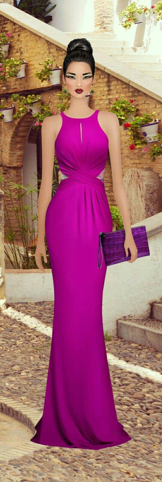 Mejores 78 imágenes de vestidos en Pinterest | Vestidos bonitos ...