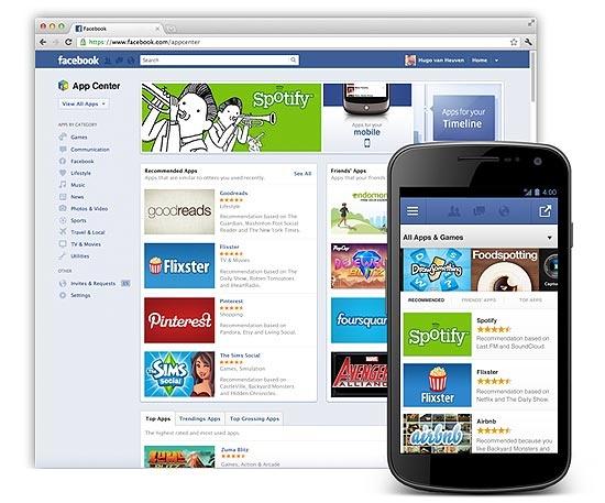 Facebook anuncia sua própria loja de aplicativos