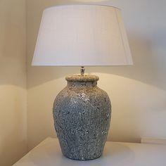 Keramiek-tafellamp-paleum-ruw-grijs