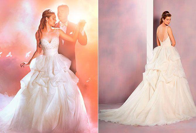 La Bella Durmiente: si te gustan los diseños delicados, entonces Aurora podría ser la princesa que inspire tu vestido de novia.