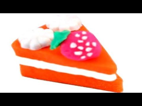 Let's bake a birthday cake for princess! Play Doh Disney princess movie for kids. Play Doh Birthday Cake Party Dessert Playdough Don't forget to like, share ...