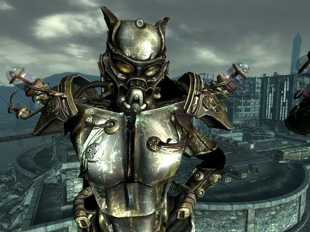 fallout new vegas how to get the enclave tesla armor