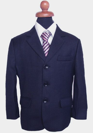 """Κοστούμια για Αγόρια - Σμόκιν :: Κοστούμι σε Μπλέ -Μαύρο, Μαρέν για Αγόρι """"Lanzo"""" - http://www.memoirs.gr/"""